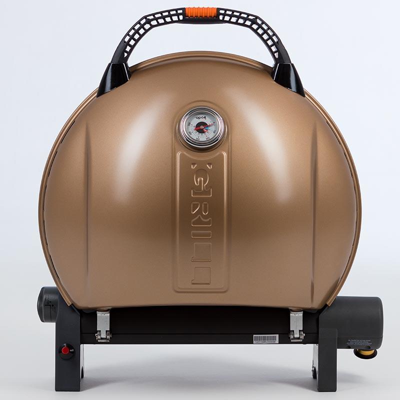 Газовый гриль O-GRILL  900MT bicolor black-gold + адаптер А