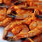 Креветки с базиликом