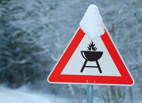 Особенности грилинга в зимний период