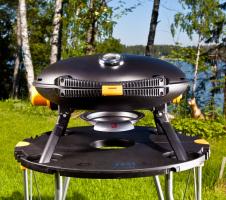 гриль o-grill на природе