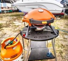 гриль o-grill для катера и лодки