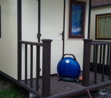 газовый гриль o-grill 700T синий
