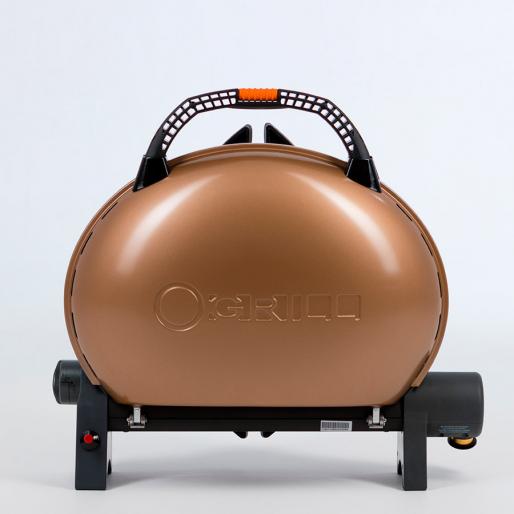 Газовый гриль O-GRILL 500M bicolor black-gold + адаптер А