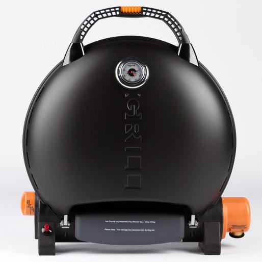 Газовый гриль O-GRILL 700T black + адаптер А