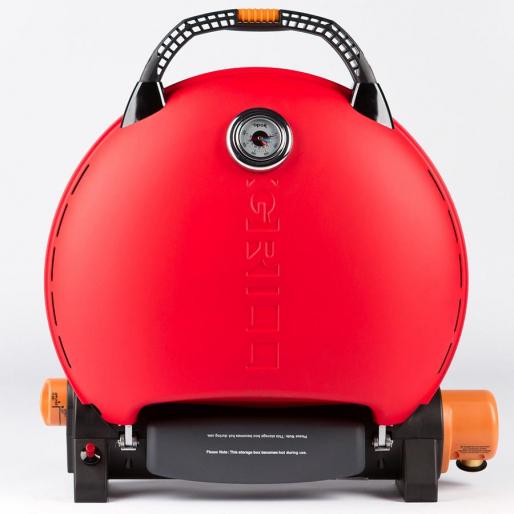 Газовый гриль O-GRILL 700T red + адаптер А