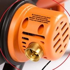 Встроенный регулятор высокого давления газа