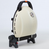 Газовый гриль O-GRILL  900MT bicolor black-cream + адаптер А