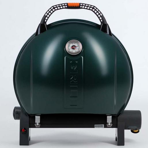 Газовый гриль O-GRILL  900MT bicolor black-green + адаптер А