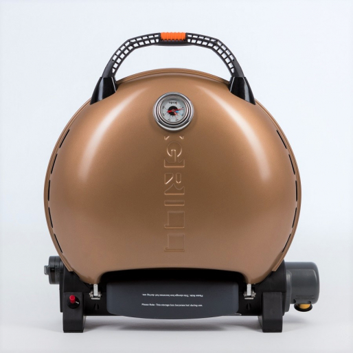 Газовый гриль O-GRILL  700T bicolor black-gold + адаптер А
